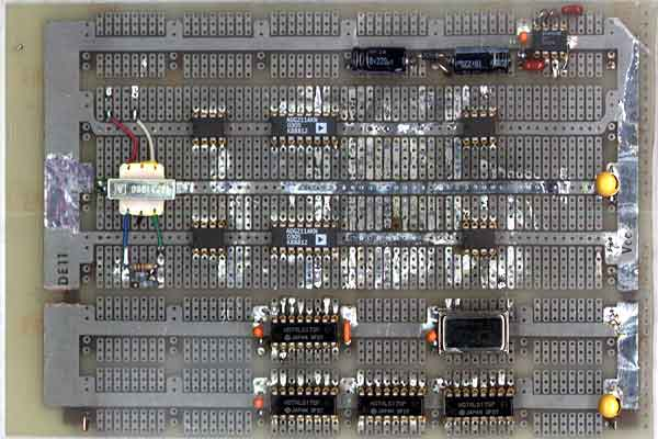 Quadrature Downconverter Board Top View