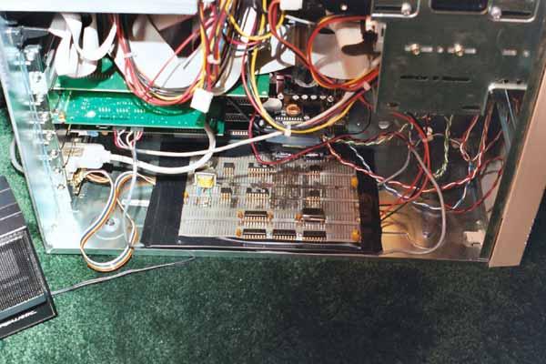 Quadrature Downconverter Board Mounted Inside the PC